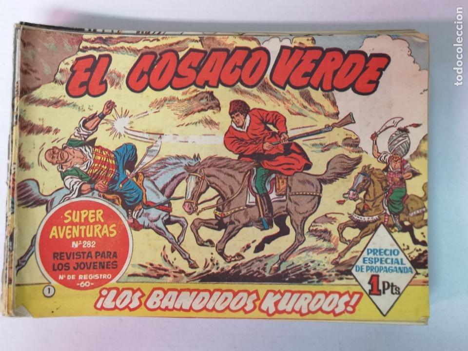 EL COSACO VERDE EDT. BRUGUERA 67 EJEMPLARES (Tebeos y Comics - Bruguera - Cosaco Verde)