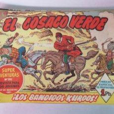 Tebeos: EL COSACO VERDE EDT. BRUGUERA 67 EJEMPLARES. Lote 216762271