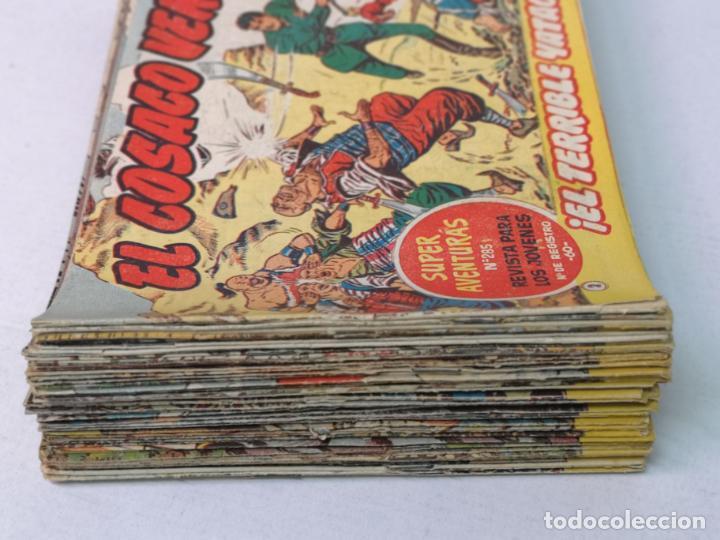 Tebeos: EL COSACO VERDE EDT. BRUGUERA 67 EJEMPLARES - Foto 5 - 216762271