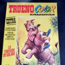 Tebeos: TRUENO COLOR SUPER AVENTURAS Nº 55 - 1ª EPOCA - LA TRAICIÓN DE GOLABO. Lote 216816441