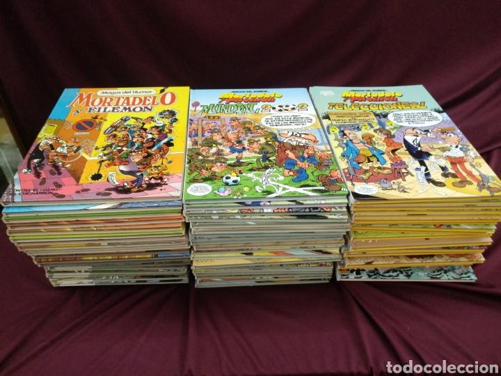 GRAN LOTE DE 79 MAGOS DEL HUMOR. MORTADELO Y FILEMON (Tebeos y Comics - Bruguera - Mortadelo)