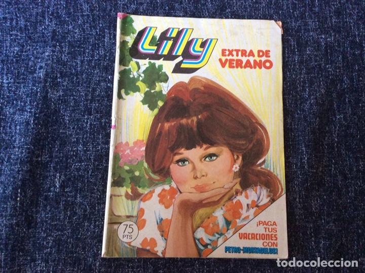 LILY EXTRA DE VERANO DE 1980 CON PÓSTER DE LOS BEATLES. -ED. BRUGUERA (Tebeos y Comics - Bruguera - Lily)