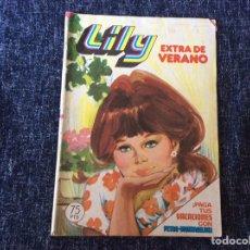 Tebeos: LILY EXTRA DE VERANO DE 1980 CON PÓSTER DE LOS BEATLES. -ED. BRUGUERA. Lote 216904305