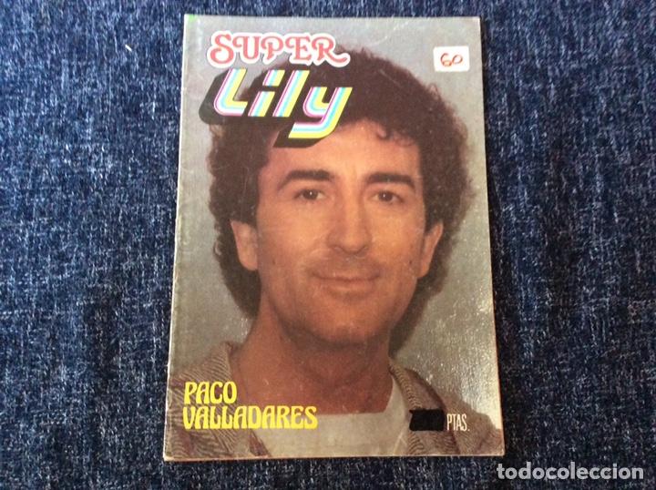 SUPER LILY Nº 61 - EDITA: BRUGUERA AÑOS 80 -POSTER: PACO VALLADARES (Tebeos y Comics - Bruguera - Lily)