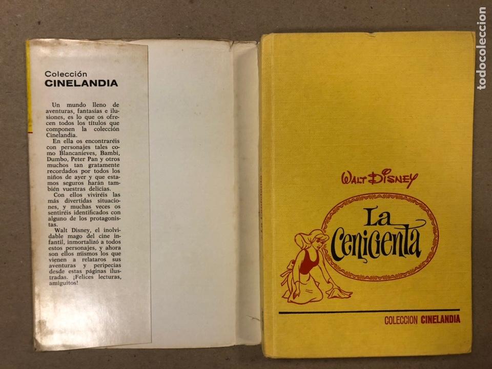 Tebeos: LA CENICIENTA (WALT DISNEY). COLECCIÓN CINELANDIA N° 16 BRUGUERA 1975 (1ª EDICIÓN). - Foto 2 - 216982003