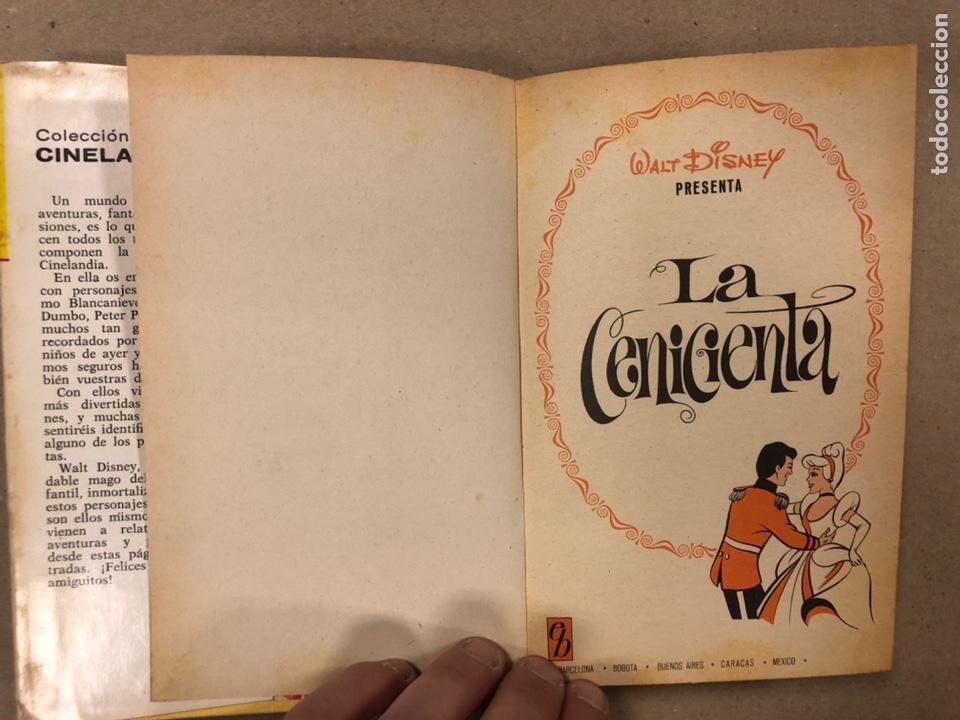 Tebeos: LA CENICIENTA (WALT DISNEY). COLECCIÓN CINELANDIA N° 16 BRUGUERA 1975 (1ª EDICIÓN). - Foto 3 - 216982003