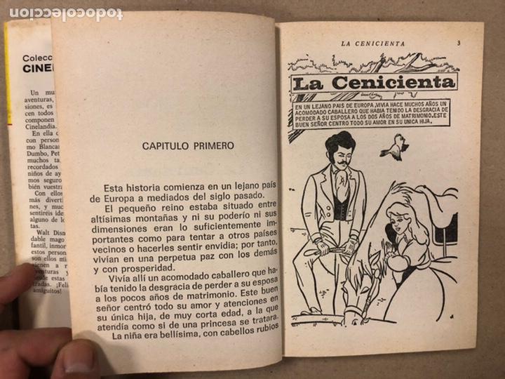 Tebeos: LA CENICIENTA (WALT DISNEY). COLECCIÓN CINELANDIA N° 16 BRUGUERA 1975 (1ª EDICIÓN). - Foto 5 - 216982003