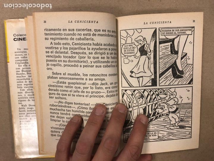 Tebeos: LA CENICIENTA (WALT DISNEY). COLECCIÓN CINELANDIA N° 16 BRUGUERA 1975 (1ª EDICIÓN). - Foto 6 - 216982003