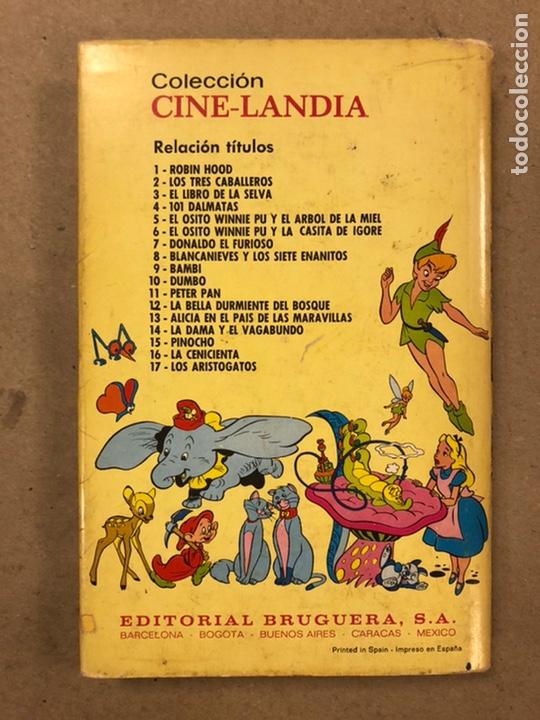 Tebeos: LA CENICIENTA (WALT DISNEY). COLECCIÓN CINELANDIA N° 16 BRUGUERA 1975 (1ª EDICIÓN). - Foto 9 - 216982003