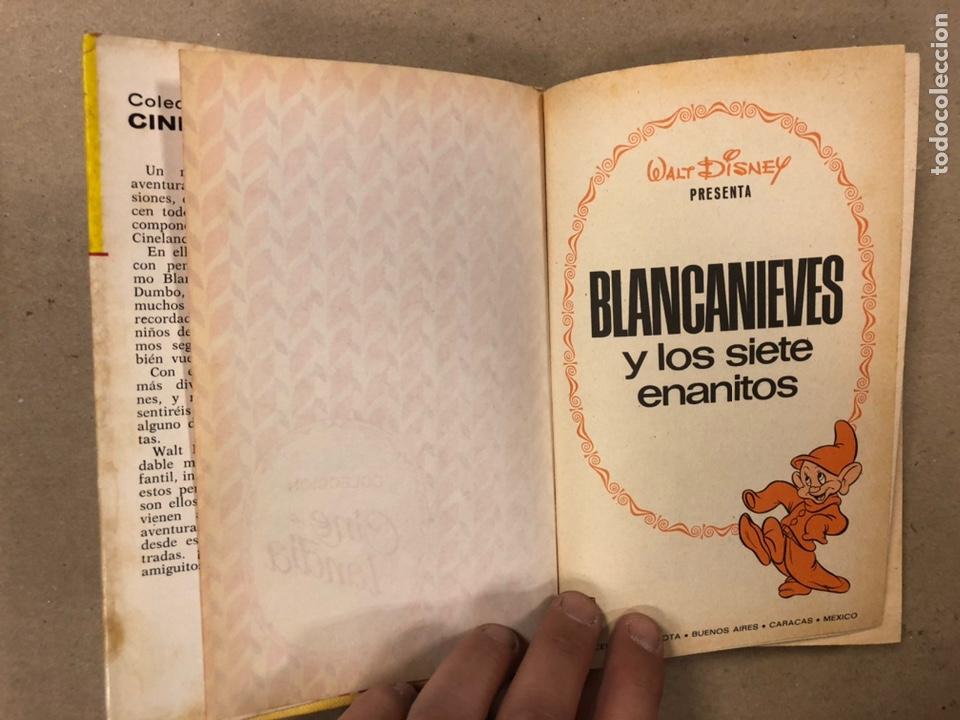 Tebeos: BLANCANIEVES Y LOS SIETE ENANITOS (WALT DISNEY). COLECCIÓN CINELANDIA N° 8 BRUGUERA - Foto 3 - 216982422