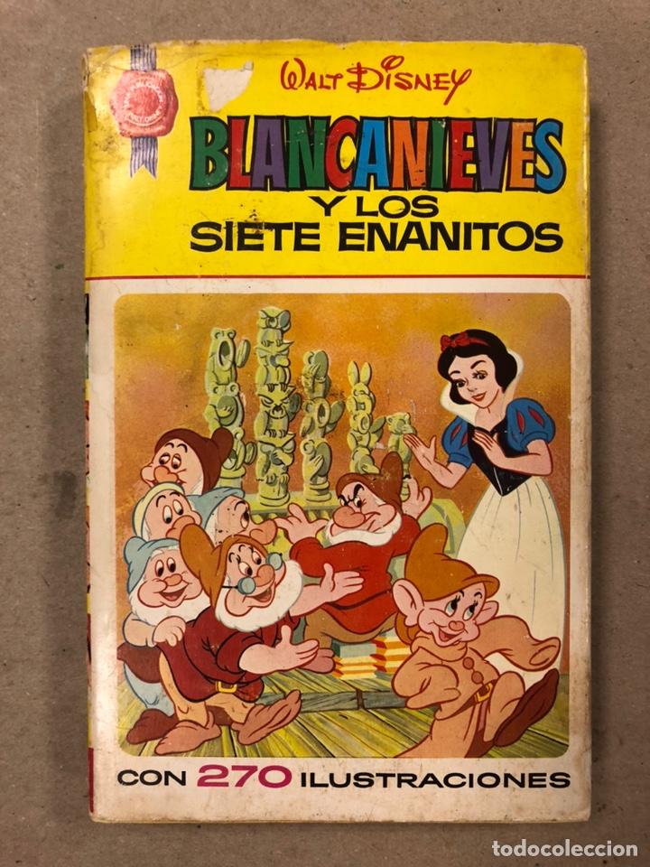 BLANCANIEVES Y LOS SIETE ENANITOS (WALT DISNEY). COLECCIÓN CINELANDIA N° 8 BRUGUERA (Tebeos y Comics - Bruguera - Historias Selección)