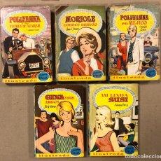 Livros de Banda Desenhada: COLECCIÓN DALIA N° 5, 10, 13, 45 Y 57. BRUGUERA 1959 - 1961 (1ª EDICIÓN).. Lote 216984320