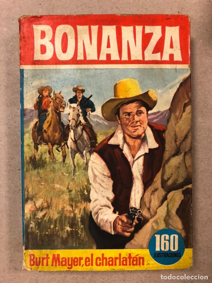 Tebeos: BONANZA. LOTE DE 4 NÚMEROS COLECCIÓN HÉROES EDITORIAL BRUGUERA. N° 16, 19, 24 y 42. - Foto 2 - 216991702