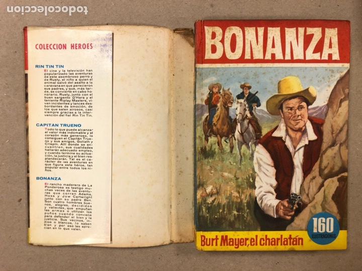 Tebeos: BONANZA. LOTE DE 4 NÚMEROS COLECCIÓN HÉROES EDITORIAL BRUGUERA. N° 16, 19, 24 y 42. - Foto 3 - 216991702