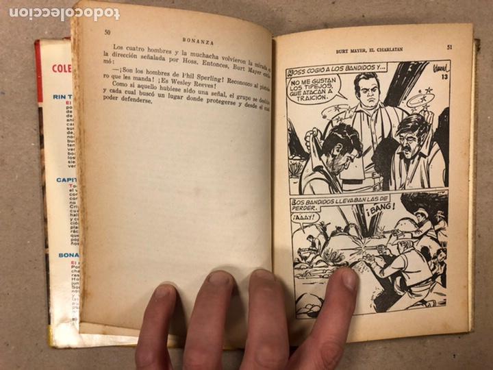 Tebeos: BONANZA. LOTE DE 4 NÚMEROS COLECCIÓN HÉROES EDITORIAL BRUGUERA. N° 16, 19, 24 y 42. - Foto 6 - 216991702