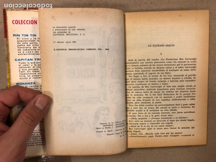 Tebeos: BONANZA. LOTE DE 4 NÚMEROS COLECCIÓN HÉROES EDITORIAL BRUGUERA. N° 16, 19, 24 y 42. - Foto 19 - 216991702