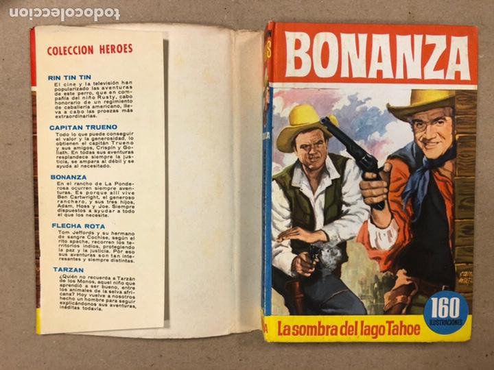 Tebeos: BONANZA. LOTE DE 4 NÚMEROS COLECCIÓN HÉROES EDITORIAL BRUGUERA. N° 16, 19, 24 y 42. - Foto 24 - 216991702
