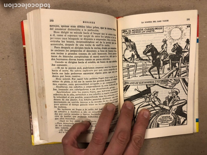 Tebeos: BONANZA. LOTE DE 4 NÚMEROS COLECCIÓN HÉROES EDITORIAL BRUGUERA. N° 16, 19, 24 y 42. - Foto 28 - 216991702
