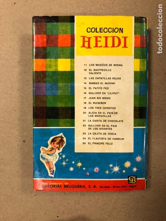 Tebeos: .LOTE 13 NÚMEROS COLECCIÓN HEIDI EDITORIAL BRUGUERA. N°1, 3, 5, 6, 7, 8, 9, 10, 16, 18, 19, 20 y 21. - Foto 8 - 216994035