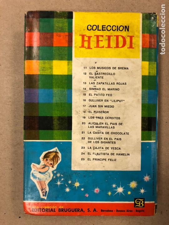 Tebeos: .LOTE 13 NÚMEROS COLECCIÓN HEIDI EDITORIAL BRUGUERA. N°1, 3, 5, 6, 7, 8, 9, 10, 16, 18, 19, 20 y 21. - Foto 26 - 216994035