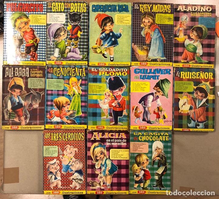 .LOTE 13 NÚMEROS COLECCIÓN HEIDI EDITORIAL BRUGUERA. N°1, 3, 5, 6, 7, 8, 9, 10, 16, 18, 19, 20 Y 21. (Tebeos y Comics - Bruguera - Historias Selección)
