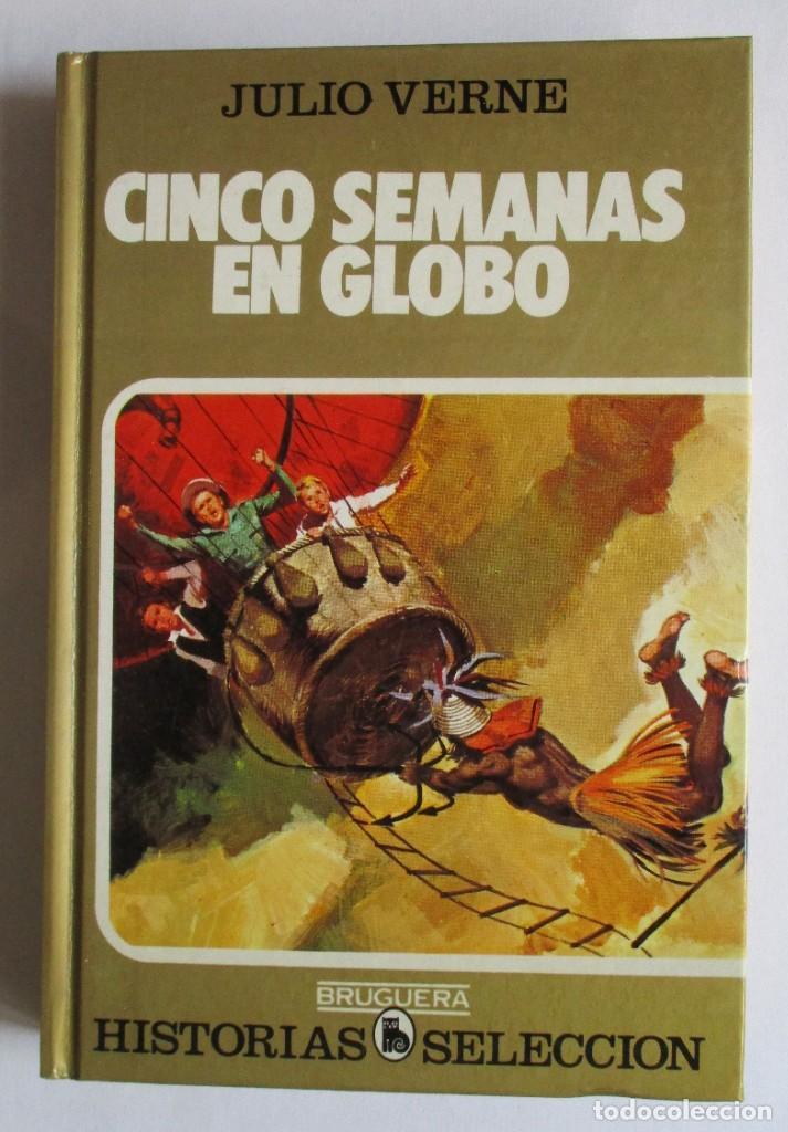 CINCO SEMANAS EN GLOBO. HISTORIAS SELECCIÓN (Tebeos y Comics - Bruguera - Historias Selección)