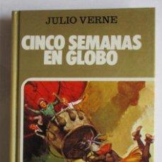 Tebeos: CINCO SEMANAS EN GLOBO. HISTORIAS SELECCIÓN. Lote 216998976