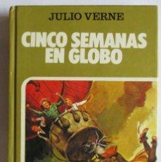 Tebeos: CINCO SEMANAS EN GLOBO. HISTORIAS SELECCIÓN. Lote 216999373