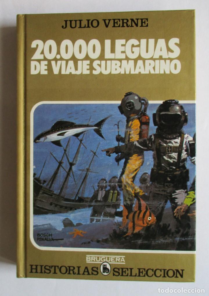 20.000 LEGUAS DE VIAJE SUBMARINO. HISTORIAS SELECCIÓN (Tebeos y Comics - Bruguera - Historias Selección)