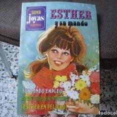 Tebeos: COMIC ESTHER Y SU MUNDO SUPER JOYAS FEMENINAS AÑO 1981 DIBUJOS DE PURITA CAMPOS. Lote 217034362