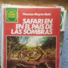 Tebeos: JOYAS LITERARIAS JUVENILES Nº 145 SAFARI EN EL PAIS DE LAS SOMBRAS. Lote 217141001