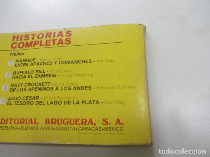 Tebeos: GRAN LIBRO GRAFICO DE HISTORIAS COMPLETAS Nº 2 BUFFALO BILL - HACIA EL ZAMBESI - BRUGUERA ETX hjj - Foto 2 - 217155270