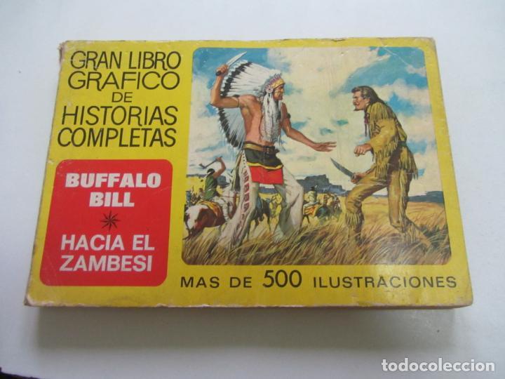 GRAN LIBRO GRAFICO DE HISTORIAS COMPLETAS Nº 2 BUFFALO BILL - HACIA EL ZAMBESI - BRUGUERA ETX HJJ (Tebeos y Comics - Bruguera - Historias Selección)