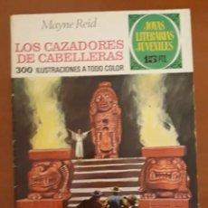 Tebeos: JOYAS LITERARIAS JUVENILES N°66 LOS CAZADORES DE CABELLERAS 1973. Lote 217254861