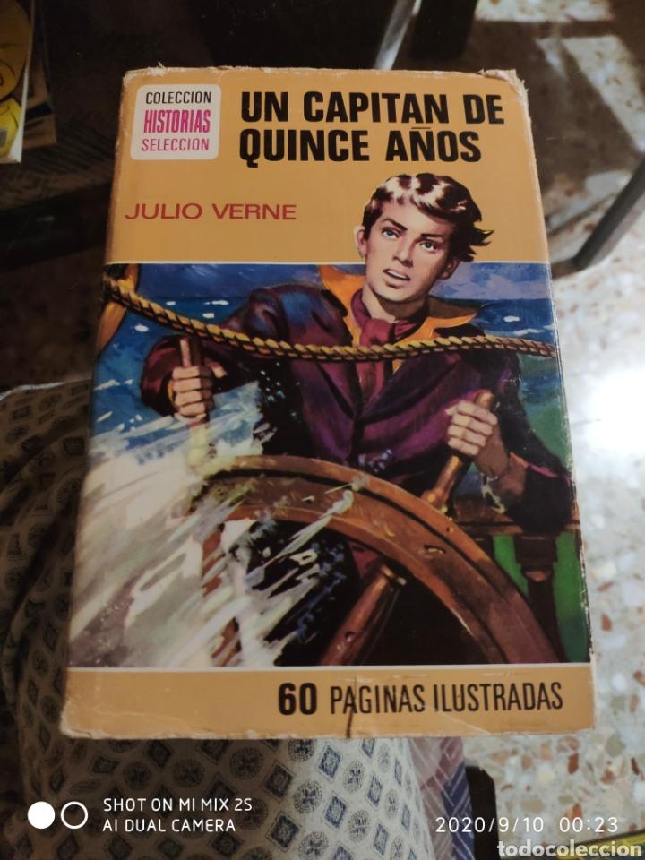 COLECCIÓN HISTORIAS SELECCIÓN N° 6: UN CAPITÁN DE QUINCE AÑOS (JULIO VERNE) (BRUGUERA) (Tebeos y Comics - Bruguera - Historias Selección)