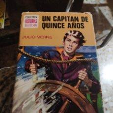 Tebeos: COLECCIÓN HISTORIAS SELECCIÓN N° 6: UN CAPITÁN DE QUINCE AÑOS (JULIO VERNE) (BRUGUERA). Lote 217292005