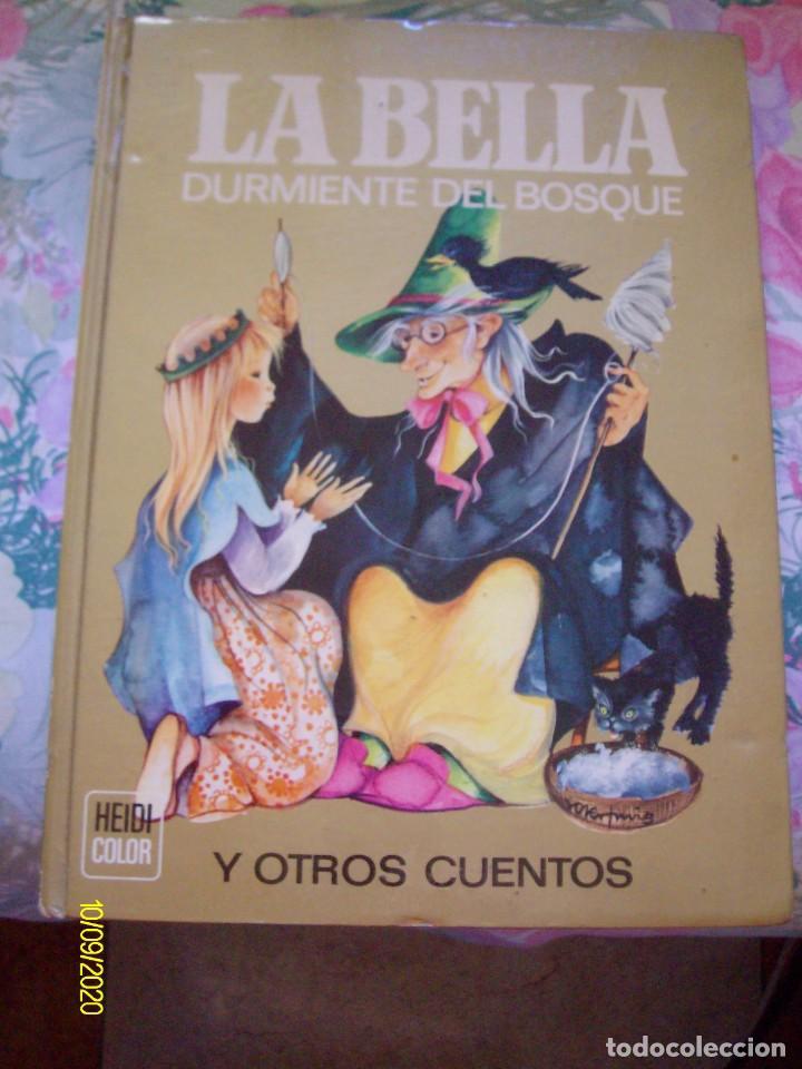 LA BELLA DURMIENTE DEL BOSQUE Y OTROS CUENTOS SERIE HEIDI COLOR Nº 1 BRUGUERA (Tebeos y Comics - Bruguera - Historias Selección)