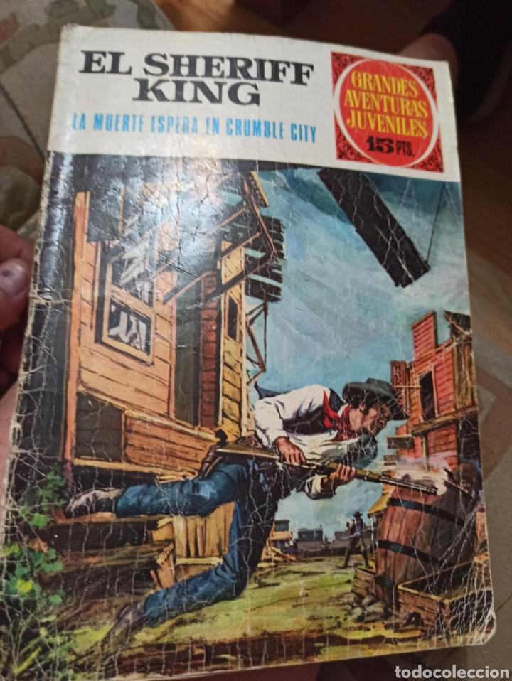 GRANDES AVENTURAS JUVENILES BRUGUERA N 16 SHERIFF KING 1970 (Tebeos y Comics - Bruguera - Sheriff King)