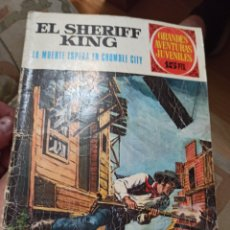 Tebeos: GRANDES AVENTURAS JUVENILES BRUGUERA N 16 SHERIFF KING 1970. Lote 217386233