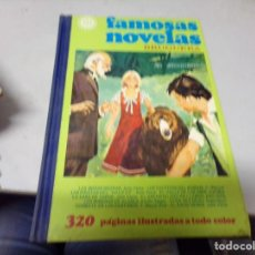 Tebeos: FAMOSAS NOVELAS BRUGUERA VOLUMEN XI - LOMO DE TELA. Lote 217429406