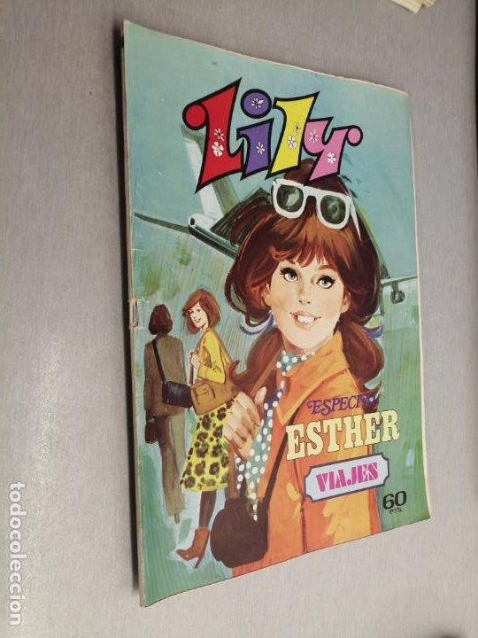 LILY ESPECIAL ESTHER Nº 4: VIAJES / 60 PTAS. BRUGUERA (Tebeos y Comics - Bruguera - Lily)