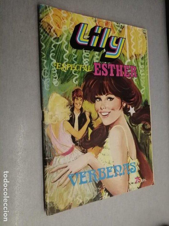 LILY ESPECIAL ESTHER Nº 7: VERBENAS / 75 PTAS. BRUGUERA (Tebeos y Comics - Bruguera - Lily)