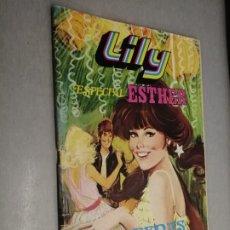 Tebeos: LILY ESPECIAL ESTHER Nº 7: VERBENAS / 75 PTAS. BRUGUERA. Lote 217465980