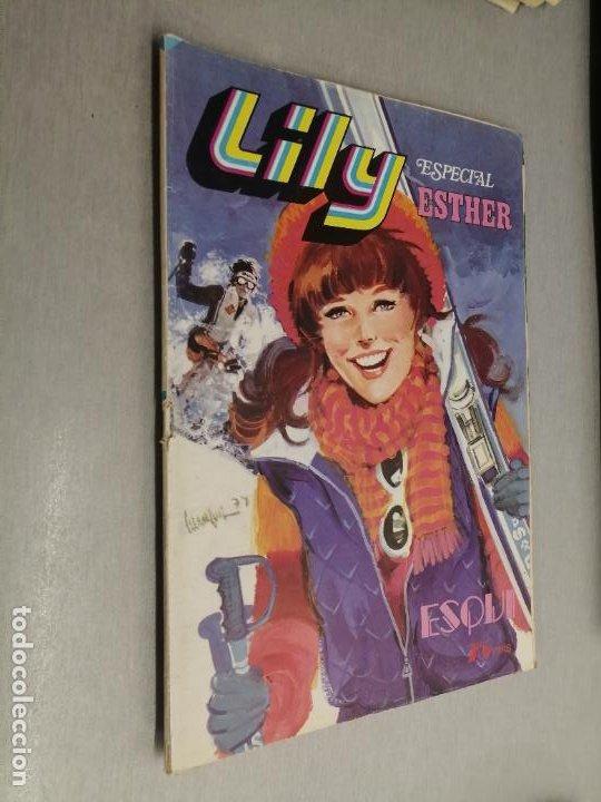LILY ESPECIAL ESTHER Nº 11: ESQUÍ / 75 PTAS. BRUGUERA (Tebeos y Comics - Bruguera - Lily)