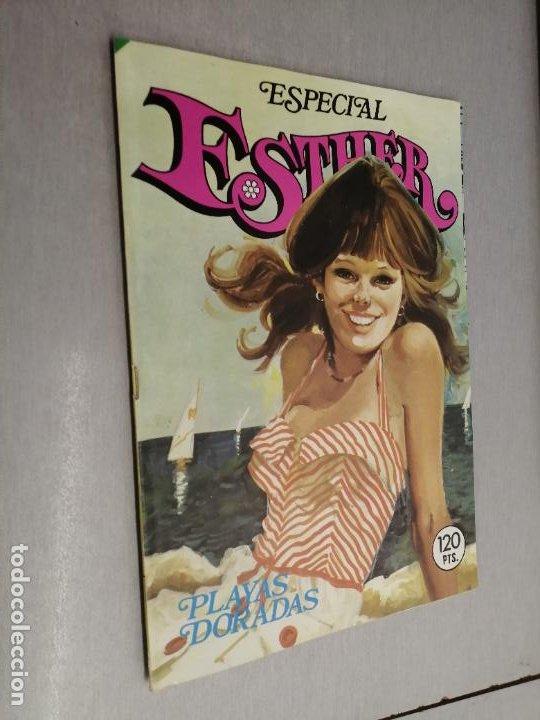 ESPECIAL ESTHER Nº 27: PLAYAS DORADAS / 120 PTAS. BRUGUERA (Tebeos y Comics - Bruguera - Lily)