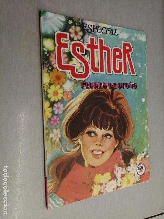 ESPECIAL ESTHER Nº 28: FLORES DE OTOÑO / 120 PTAS. BRUGUERA (Tebeos y Comics - Bruguera - Lily)