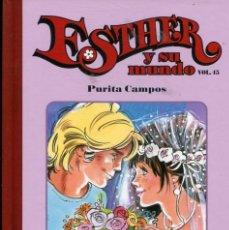 Tebeos: ESTHER Y SU MUNDO VOL.45 TAPA DURA SALVAT (PURITA CAMPOS 2011). Lote 235483040