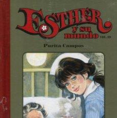 Livros de Banda Desenhada: ESTHER Y SU MUNDO VOL.29 TAPA DURA SALVAT (PURITA CAMPOS 2011). Lote 217505015