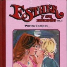 Livros de Banda Desenhada: ESTHER Y SU MUNDO VOL.34 TAPA DURA SALVAT (PURITA CAMPOS 2011). Lote 217505160