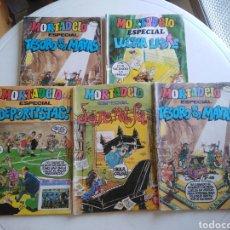 Livros de Banda Desenhada: LOTE DE 5 CÓMIC DE MORTADELO ESPECIAL. Lote 217617176